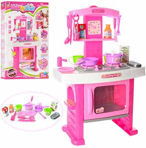 e0c6bff55358 Кухня детская для девочек Happy Chef 661-51 купить, цена, отзывы