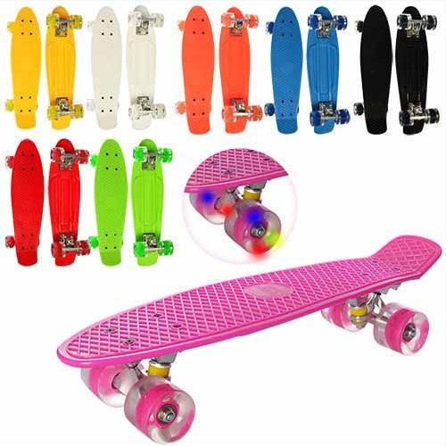 Penny Board со светящимися колесами