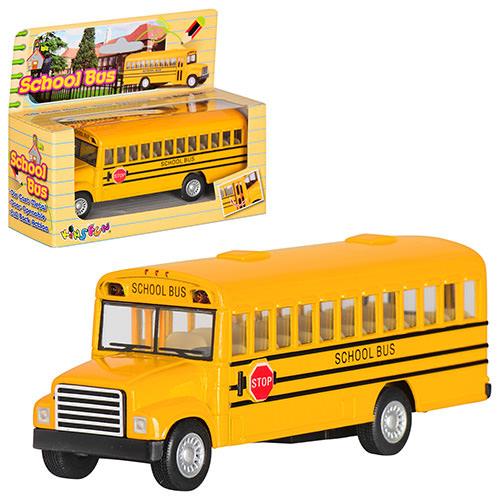 Машинка Школьный Автобус KS 5107 W