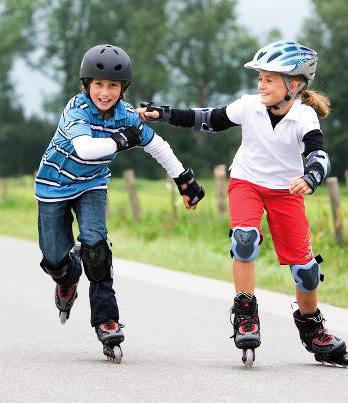 Детская защита для катания