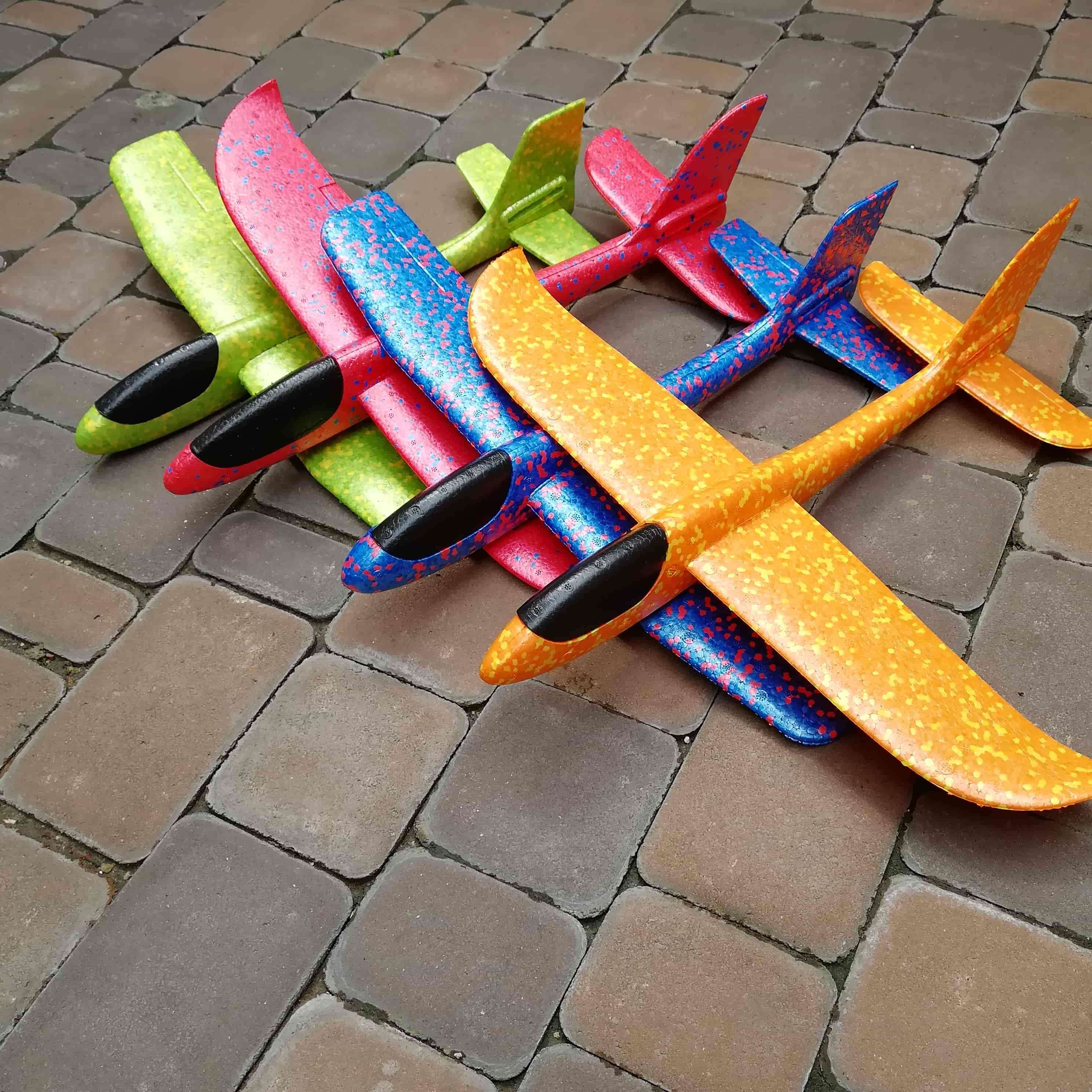 Самолет планер пенопластовый метательный