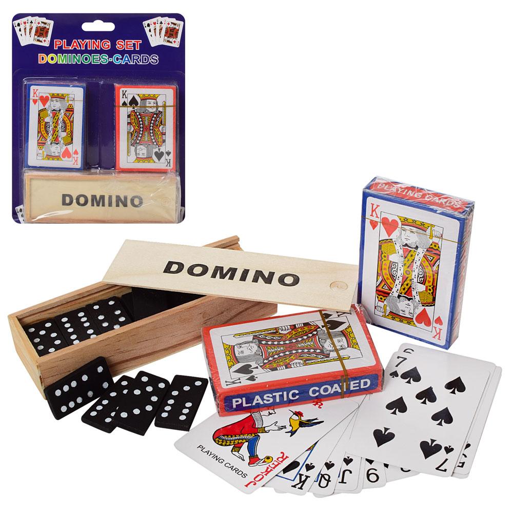 в домино карты играть